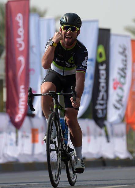 Mark Cavendish of Great Britain and Dimension Data wins the Abu Dhabi Al Ain Classic on December 3 2017 in Abu Dhabi United Arab Emirates