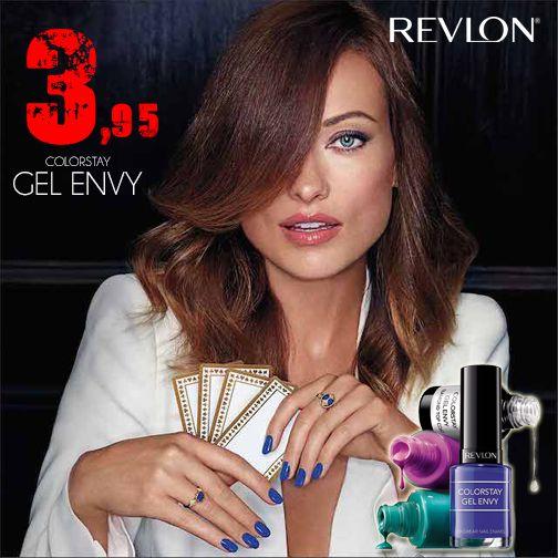 Una revolución ha llegado a nuestras tiendas, el Esmalte de uñas Gel Envy de Revlon. Por sólo 3,95 €, llévate uno de los mejores geles de uñas del mercado, con secado ultrarapido y larga duración. Corre¡¡¡ que nos los quitan de las manos....