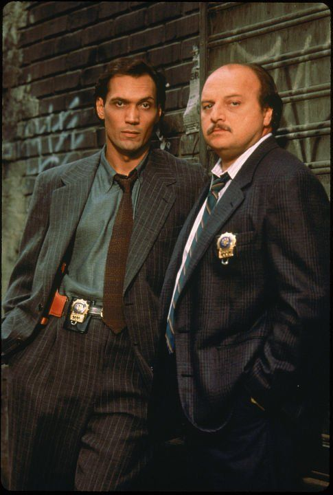 Jimmy Smits and Dennis Franz -   NYPD Blue