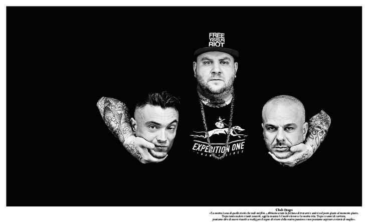 """Club Dogo - Rolling Stone Italy """"The 100 Faces of Italian Music"""""""