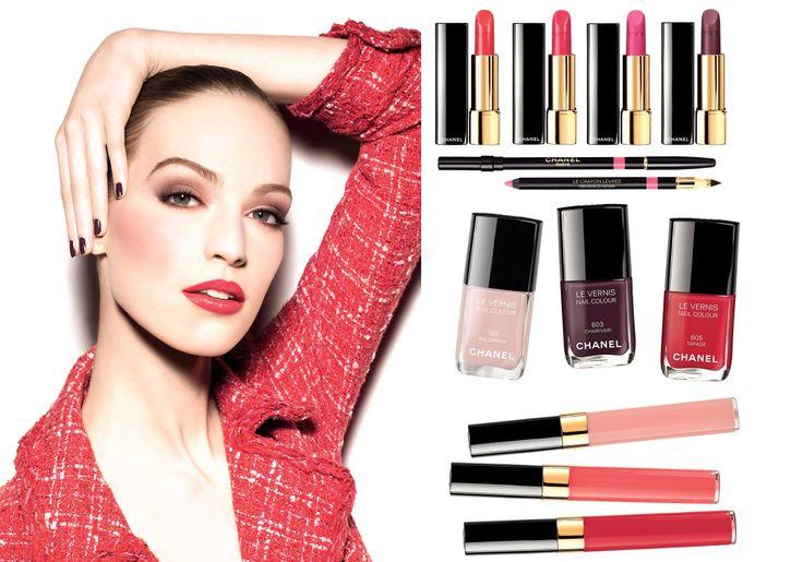 """Nuova Collezione Make-up Chanel Primavera 2014 """"Notes du Printemps""""  Già Primavera? Brrrr!"""