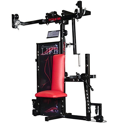 TYTAX-S6-ULTIMATE-HOME-MULTI-GYM-MACHINE-FITNESS-EQUIPMENT-BEST-FREE-WEIGHT-PRO-WORKOUT-EXERCISE-BENCH #homegyms #fitness