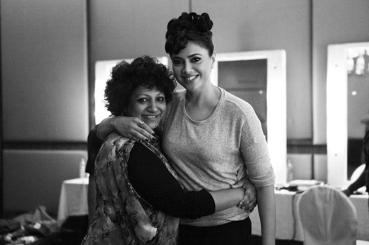 Make-up maestro Ambika Pillai meets the super hot Sameera Reddy .We are celebrating fashion in true sense