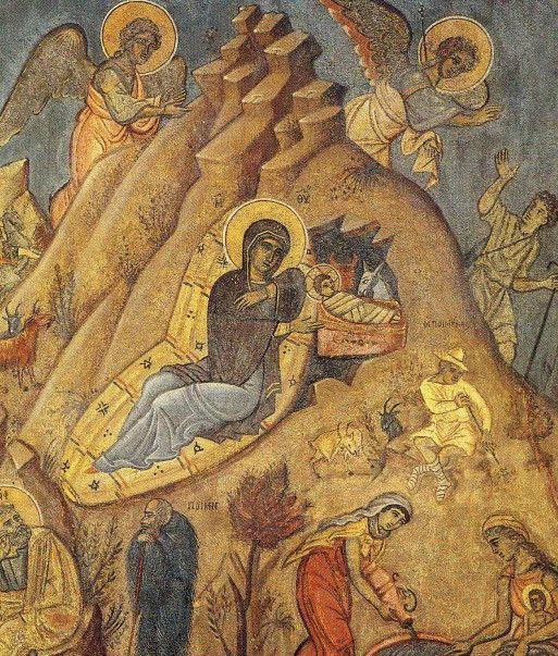 Τοιχογραφία Φ.Κόντογλου, παρεκκλήσιο Οικ.Πεσμαζόγλου Κηφισιά