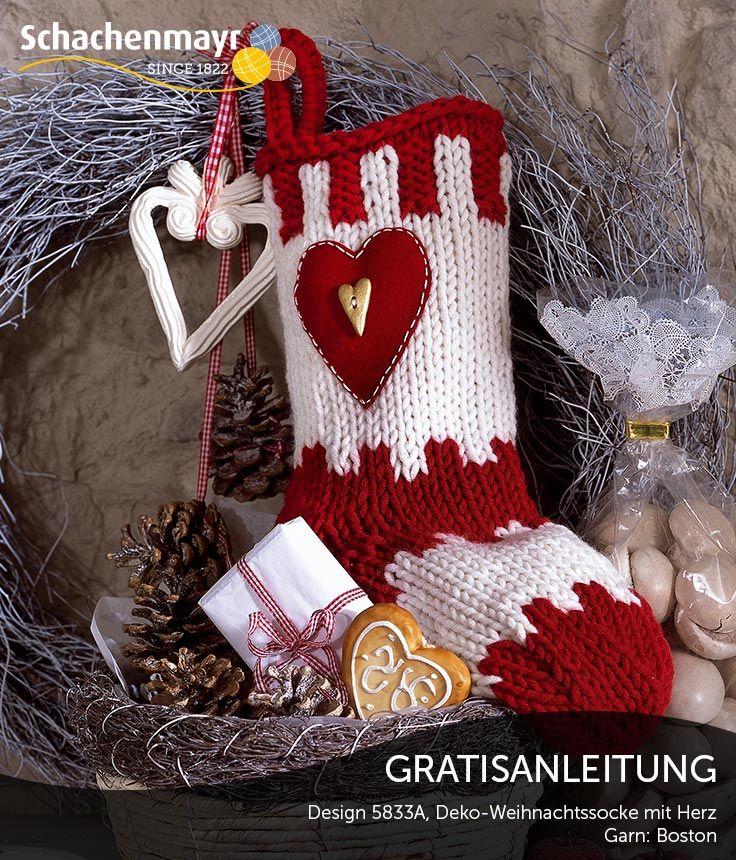 Colorful Kostenlos Weihnachten Strumpf Muster Zu Nähen Frieze ...
