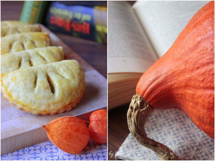 Miss Blueberrymuffin's kitchen: [Magical October] Im Hogwarts-Express: Mini-Kürbispasteten