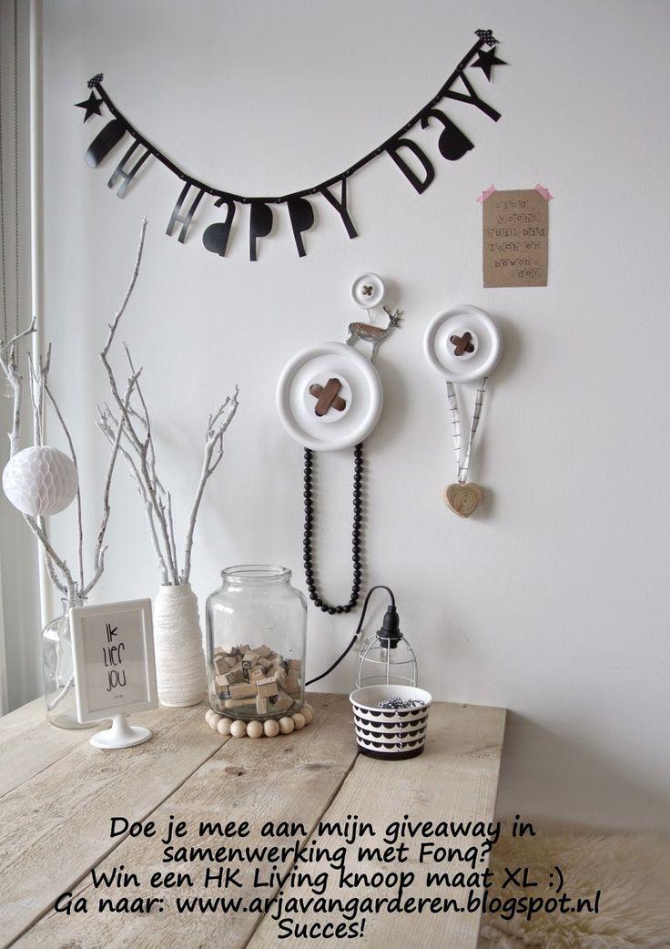 Zwart, wit & hout: Giveaway in samenwerking met Fonq.nl!