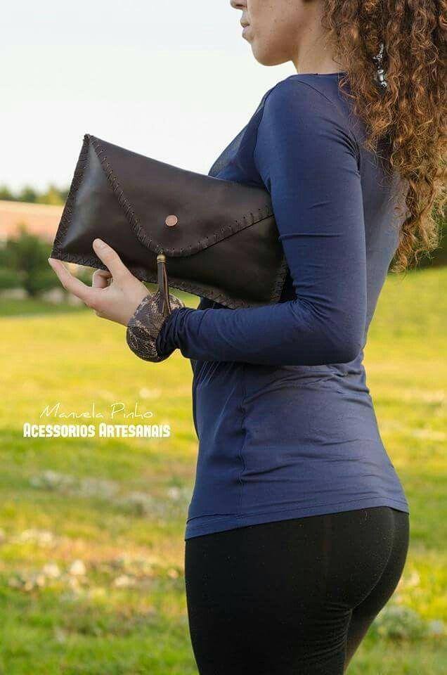 Clutch   Handmade   Genuine Leather