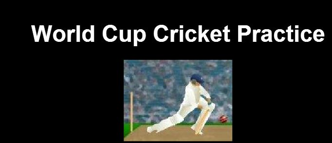 Did you check this World Cup #Cricket Practice game?? then check and play this #Sportsgame