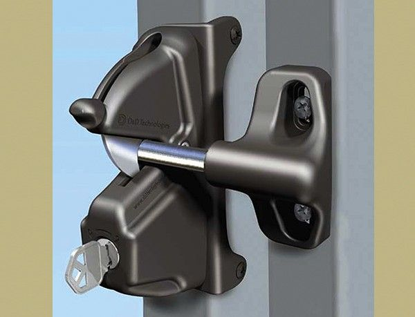229 Best Images About Gate Lock And Latch Design On Pinterest
