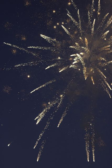 Fireworks for the big night.