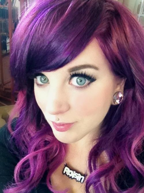 cute piercings for girls | hat swag girl myself piercings beanie ...