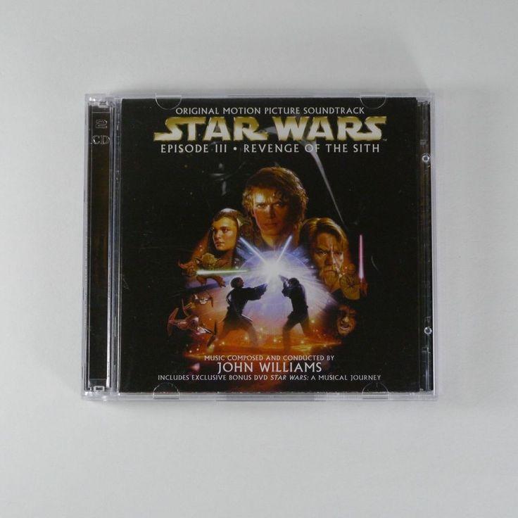 Star Wars Episode III -Revenge of the Sith OST [Korea Edition, 1CD+1DVD, 2Disc]