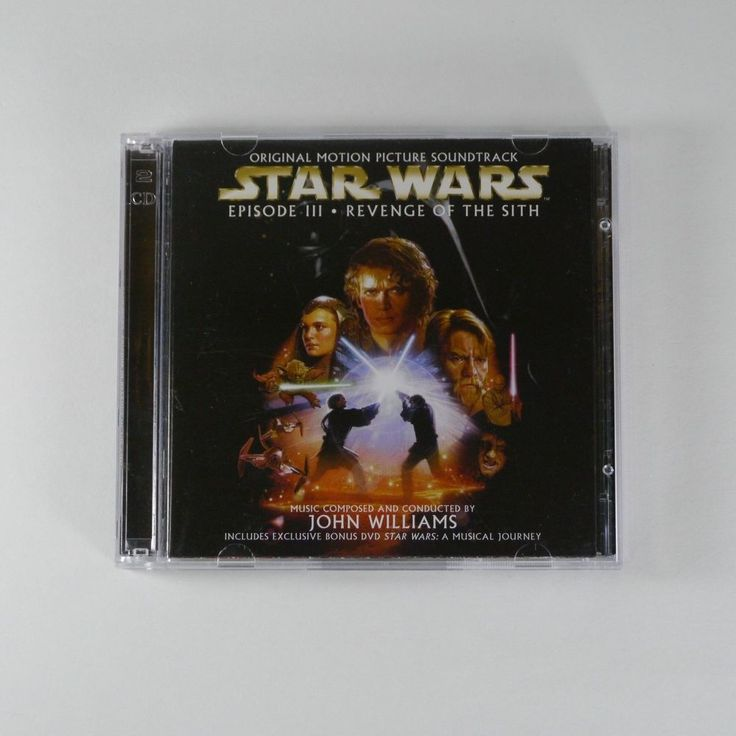 Star Wars Episode III -Revenge of the Sith OST [Korea Edition, 1CD+1DVD, 2Disc]