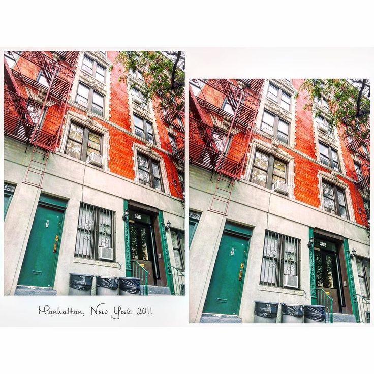 2つ目のホームステイ先はいかにもマンハッタンのアパートメントという可愛いおうち 治安も良し #Manhattan #NY #America #homestay #July #2011  #studyabroad #worldtrip #summer #tflers #tbt  #throwbackthursday #photooftheday #マンハッタン #ニューヨーク #アメリカ #留学 #ホームステイ #海外 #海外生活 by worldtrip375
