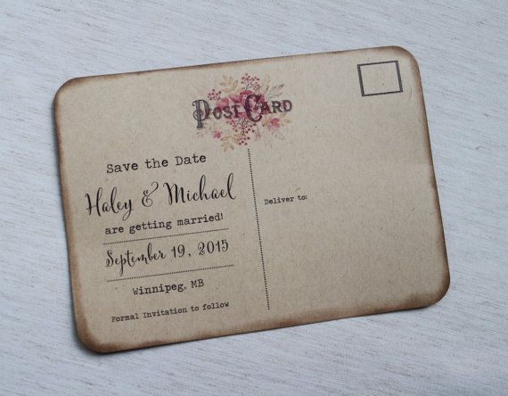 Best 20+ Save the date postcards ideas on Pinterest