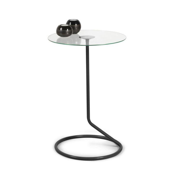 Lasso Side Table in Black | dotandbo.com