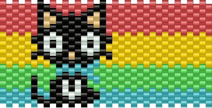 Chococat Full Kandi Pattern
