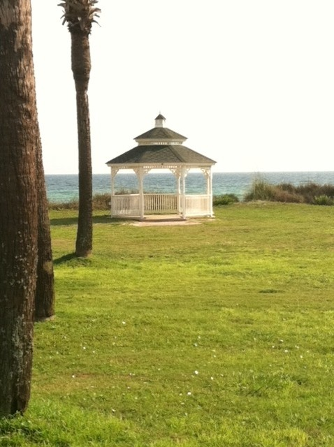 Panama City Beach Wedding Gazebo By The Sea Resorts
