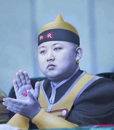 Android 19 Kim Jong-un