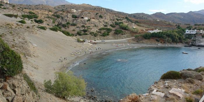 Agios Pavlos Beach in Rethimno, Crete