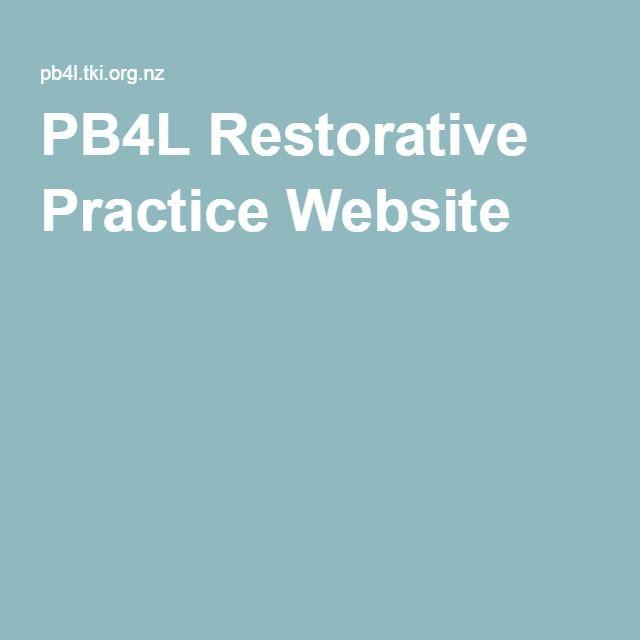 PB4L Restorative Practice Website