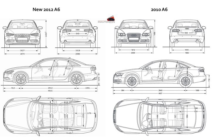 gallery for gt car dimensions in feet