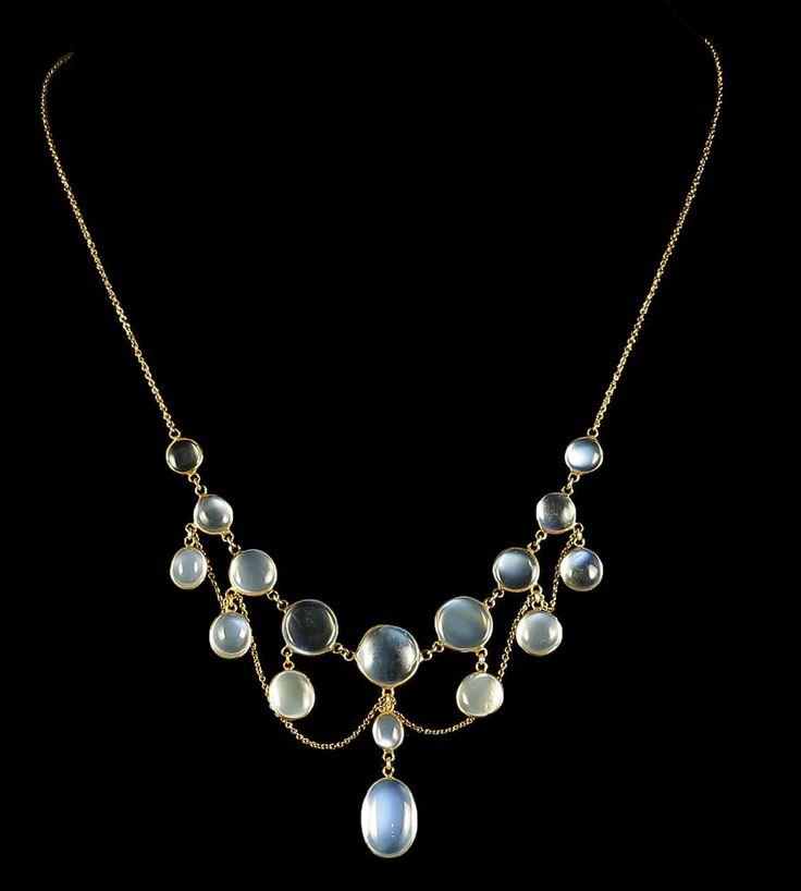 moonstone jewelry gold - photo #16