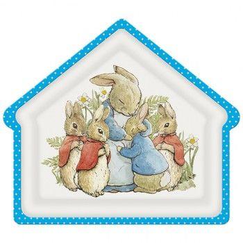 Plato La casa del Conejo Pedro