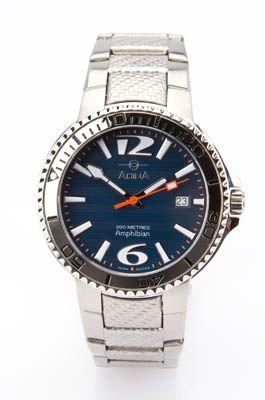 Bellrose Jewellers  ADINA 'Amphibian' sapphire crystal water resistant 200m watch, $349