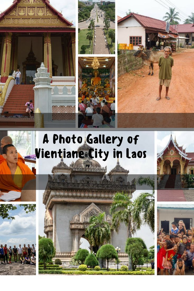 A gallery of Vientiane City, the capital of Laos, check out this boutique city in picture and put it on your list when venturing to new destinations.