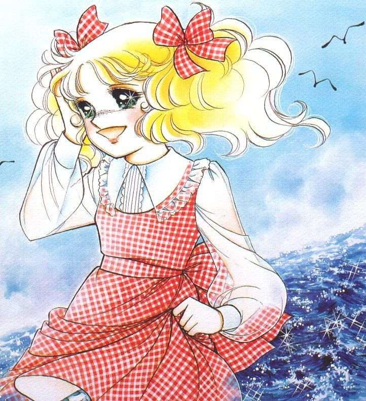 ❤٩(๑•◡-๑)۶❤                                          candy candy