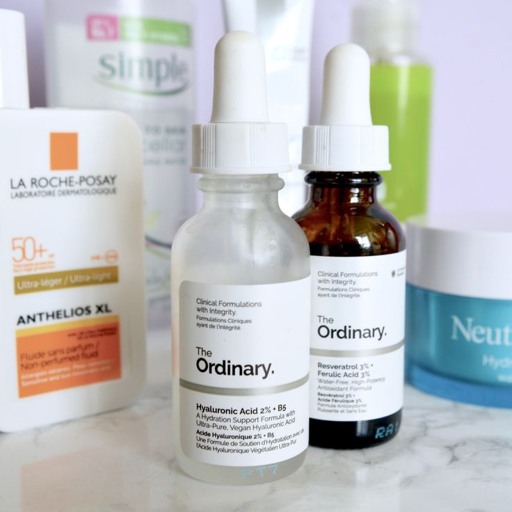 The Ordinary Hyaluronic Acid serum (Skincare Shake Up - full skincare routine for rosacea, sensitive skin)