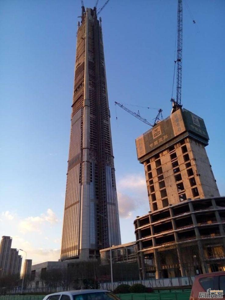 TIANJIN   Goldin Finance 117   597m   1957ft   117 fl   U/C - Página 100 - SkyscraperCity