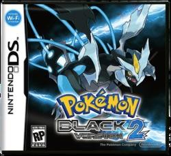 Pokemon Black 2 Boxart EN