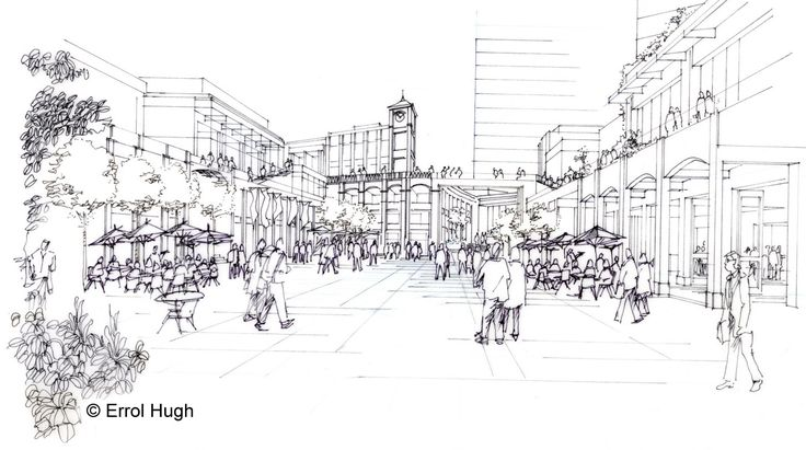 Architectural Sketches | Sketching to Illustrate a Vision
