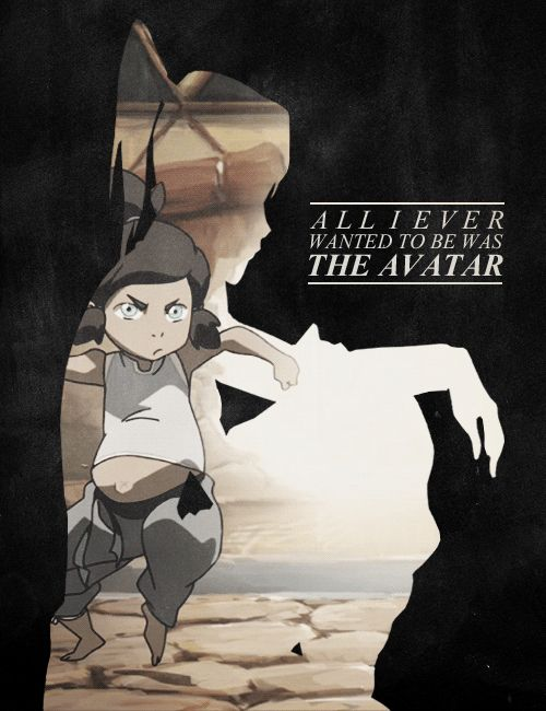 """""""Why didn't you tell us you were the avatar?"""" """"Because I never wanted to be."""""""