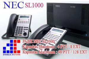 Pabx NEC SL1000 Pabx yang efektif, kaya fitur, efisiensi, dengan dukungan IP-telephony, pabx NEC SL1000 dilengkapi dengan kemampuan cerdas dengan fitur canggih sesuai untuk kebutuhan bisnis anda