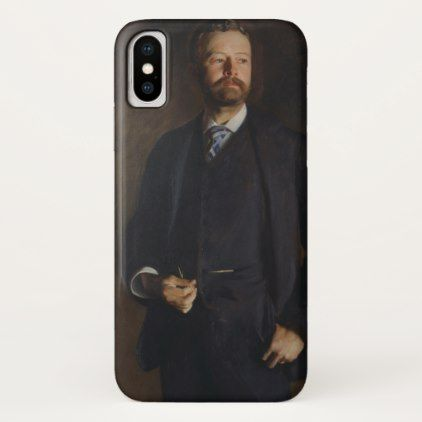 Portrait of Henry Cabot Lodge by JS Sargent iPhone X Case - elegant gifts gift ideas custom presents