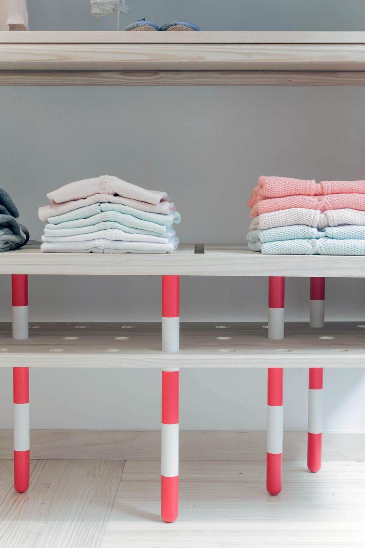 diseo interior para tienda de ropa infantil neroli by nagore donostia design