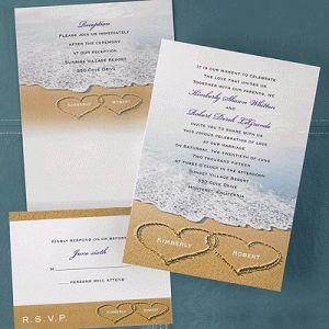 23 best Wedding Invitations images on Pinterest | Beach wedding ...