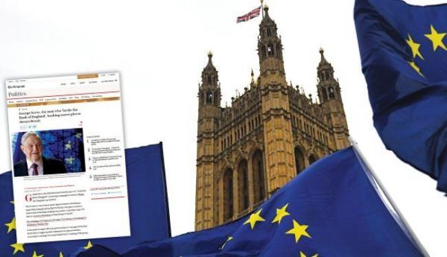 «Συνωμοσία Σόρος κατά του Brexit»!