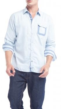 BTNS Shirt, BlueBlue, Btns Shirts
