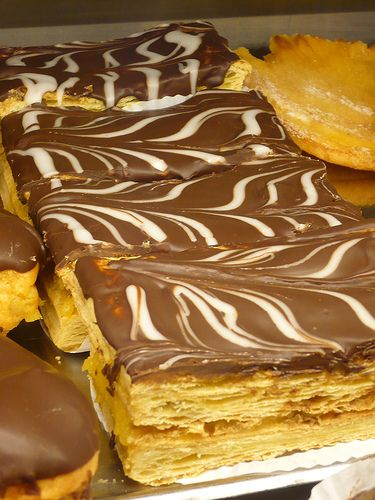 Portuguese pastry- Mil Folhas ou Napoleao by Fabrico Proprio, Portugal