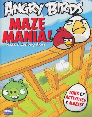 "ROVIO Angry Birds® Maze and Activity Book ""Maze Mania!"" (96 Pages) by Rovio Entertainment. $3.95. Book measures approximately 8"" x 10.75"" and has about 96 pages.. Delight your Angry Birds fan with this Angry Birds maze and activity book.  Come play with your favorite Angry Birds and egg-stealing pigs in a whole new way with this action-packed book.. Great gift for your favorite Angry Birds enthusiast! This maze and activity book will provide many hours of fun!. Mazes, games, and..."