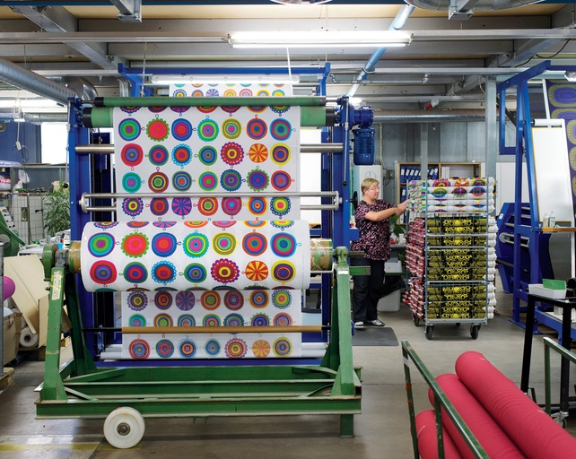 Helsinki Ink: Step inside Marimekko's printing factory for a look at how its iconic textiles come to life.