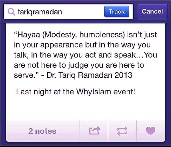 Modesty - Tariq Ramadan