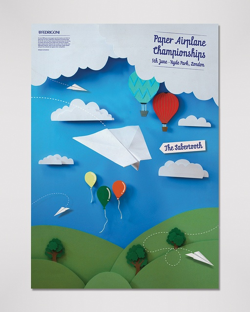 Paper promotion by Adam Sharp: Graphic Design, Posters Covers, Poster Design, Adam Sharp, Art Posters, Editorial Design, Booth Design, Airplane Championships