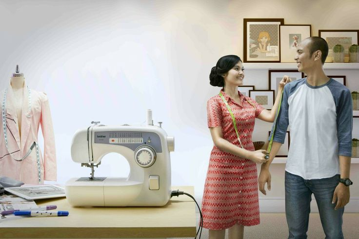 Prewedding Sewing machine
