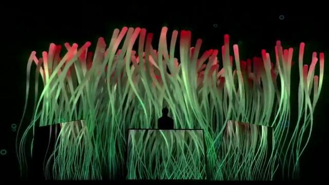 Visuals for Paul Kalkbrenner tour 2011 commissioned by pfadfinderei